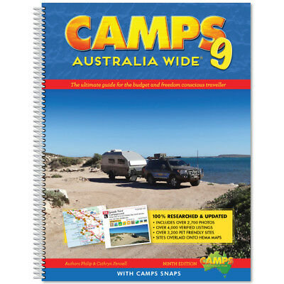 Camps 9 Book with snaps: Large hard Cover B4 Size : Camps Australia Wide