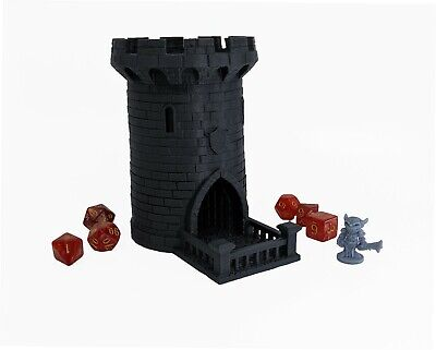 "5"" Dice Tower, 3D Printed, Dice Roller, Dice Tray, Dungeons and Dragons, DnD,RPG"