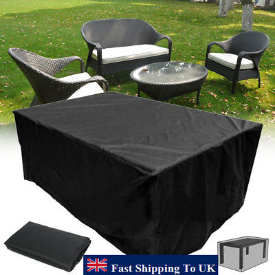 Heavy Duty Furniture Cover Waterproof Garden Patio Table Outdoor Shelter 9 Size
