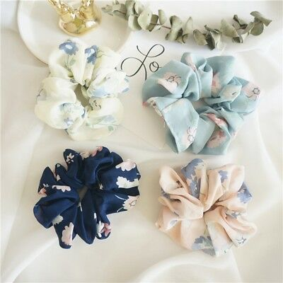 8 Colors Elastic Accessories Hair Scrunchie Ponytail Holder Scrunchy Hairband