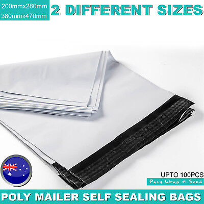 Poly Mailer Plastic Satchel Courier Self Sealing Shipping Mailing Mailer Bag NEW