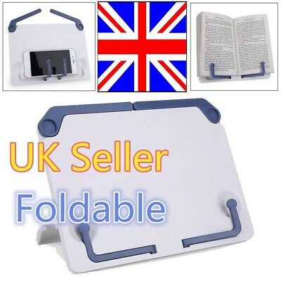 Portable Book Document Foldable Stand Reading Desk Holder Bookstand UK Shipping