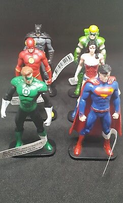 DC SUPERHERO Collectable Figurines Toy New Superman Batman Flash