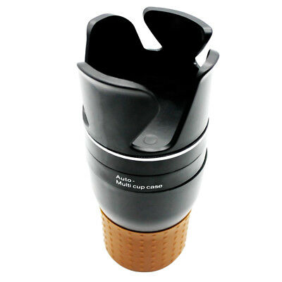 Universal Auto Car Vehicle Cup Can Drink Bottle Dual Holders Container