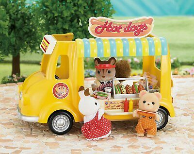 Sylvanian Families Hot Dog Van Set