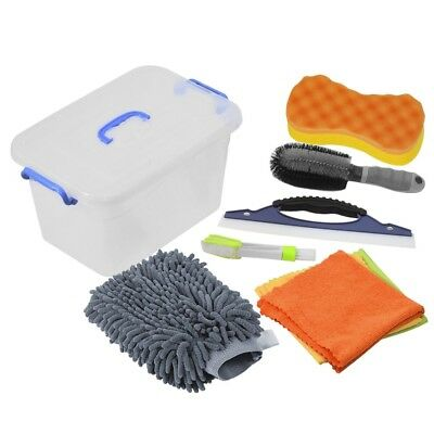 Car Cleaning Tools Kit Exterior and Interior in Box Bucket UPGRADED