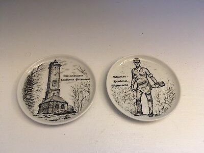 Set of Two Small Pirmasnes Plates