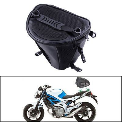 Waterproof Motorcycle Rear Back Seat Sport Tail Tank Carry Bag Luggage Saddlebag