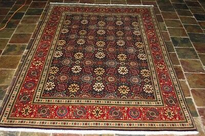 Colorful Pattern 300X202 70's Marant Persian Carpet Rug, Natural Dyes
