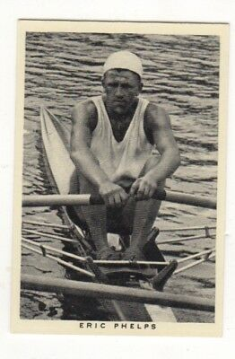 Wills Sculling Card. Eric Phelps