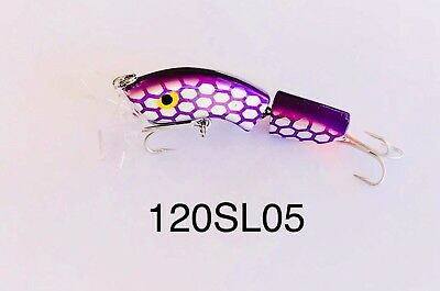 King Hit Lures Paddler 120mm Fishing Jointed surface Murray Cod Lure SALE!!!