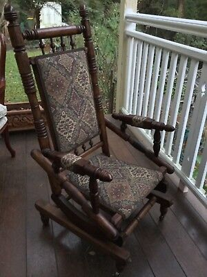 Antique Dexter Rocking Chair - Fully restored