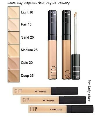 Maybelline Fit Me Gel Concealer No Waxes or Fillers All Shades 5 to 60 Fast Post