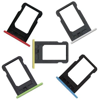 For Apple iPhone 5C Replacement Nano Sim Card Tray Slot Holder