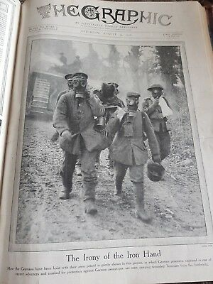 The Graphic, An Illustrated Weekly Newspaper (July 6, 1918 - October 26 ,1918)