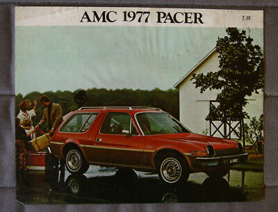 AMERICAN MOTORS AMC PACER 1977 dealer brochure - French - Canadian Market