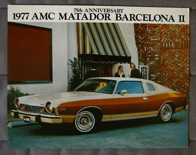 AMERICAN MOTORS AMC MATADOR 1977 dealer brochure - English - Canadian Market
