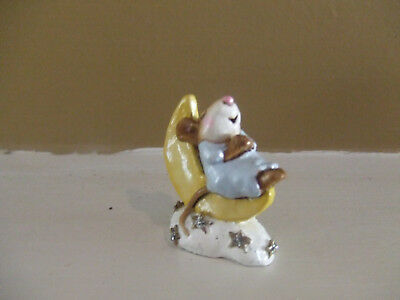 Wee Forest Folk 1995 M210 A.p. Hevanly Slumber On Moon Pr Owned Mint