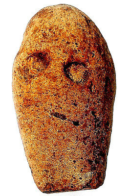 Flint Stone Possible Acheulian Ancient Goddess Neolithic Idol Worship Figurine