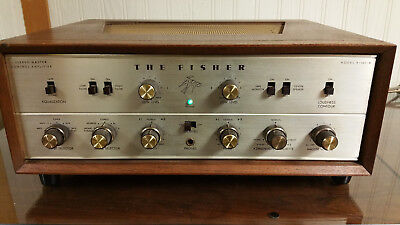 Vintage Fisher X-101-B Integrated Tube Amplifier with Original Manuals