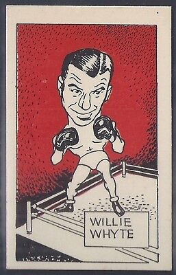 Cummings-Famous Fighters-#53- Willie Whyte