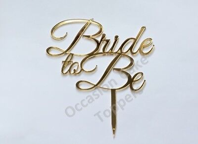 Bride to Be Cake Topper Hen Do Engagement Party Cake Topper