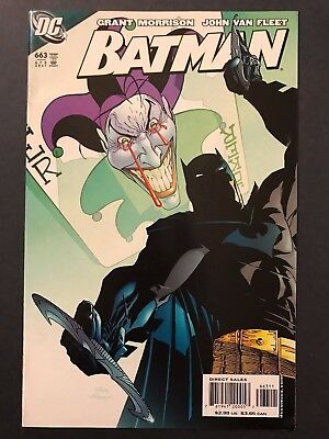Batman #663 Key Joker Harley Quinn issue 2007 DC Comics Morrison 1st Print VF/NM