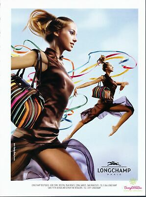Print Ad~2004~Longchamp Boutiques~Promo~Advertisement~H400