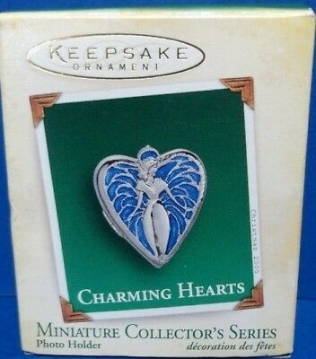 2005 Charming Hearts Hallmark Retired Miniature Series Ornament