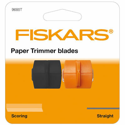 Fiskars Straight Cutting & Scoring Blades for Personal Paper Trimmer F9685T
