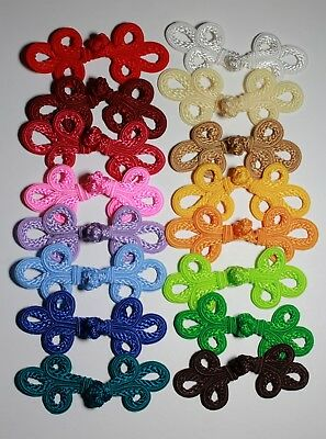 Large Frog Fasteners Closure Button  16 Different Colours # 15