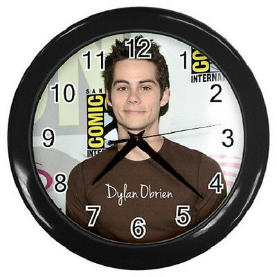 DYLAN OBRIEN TEEN WOLF 10 inch 25cm COLLECTIBLE WALL CLOCK 99108316