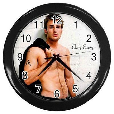 CHRIS EVANS 10 inch 25cm COLLECTIBLE WALL CLOCK 99218427