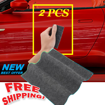 2 pcs/set Super Magic Scratch Remover Car Scratch Repair Tool New