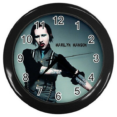 MARILYN MANSON 10 inch 25cm COLLECTIBLE WALL CLOCK 98864734