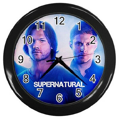 SUPERNATURAL JENSEN ACKLES JARED 10inch 25cm COLLECTIBLE WALL CLOCK 99066417