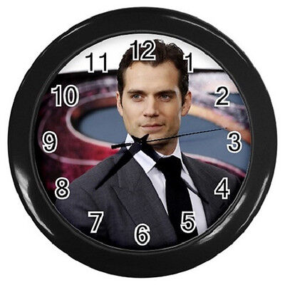 HENRY CAVILL SUPERMAN 10 inch 25cm COLLECTIBLE WALL CLOCK 99065358