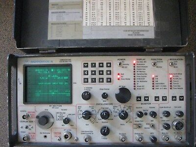 Motorola R2001D Communications Systems Analyzer-Powers Up-AS IS