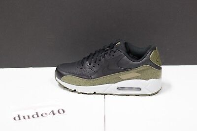 the best attitude be873 d228a NIKE AIR MAX 90 HAL Black/Medium Olive Men's AH9974 002 patches ...
