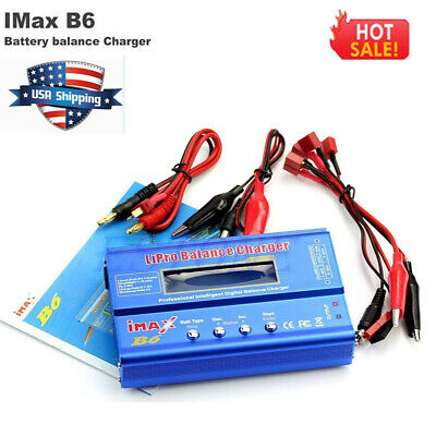 Multi-Battery Balance Charger For Rc Car Boat Truck RC Accessories Blue L0E3