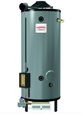 Rheem commercial 100 gal. Natural gas water heater new in crate. 2000$ obo