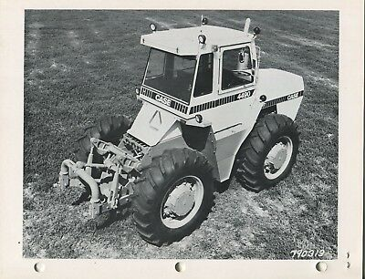 Case 4890 4690 4490 etc 20 A4 size black and white photos of these tractors work