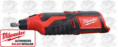 Milwaukee 2460-20 12 Volt M12 Cordless Rotary Tool (Tool + Discs Only) New ®