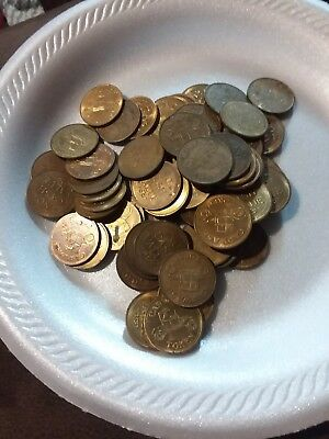 Vintage Car Wash Token Lot