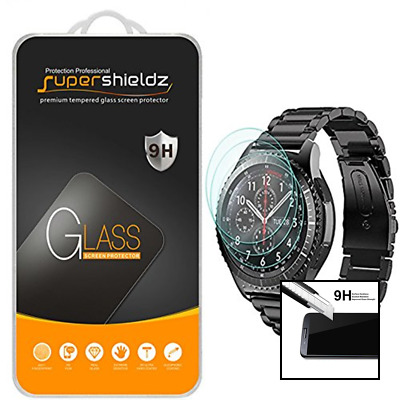 3 Pack For Samsung Gear S3 Frontier/Classic Tempered Glass Screen Protector Full