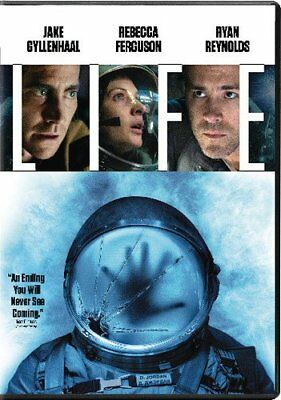 Life DVD with Ryan Reynolds Aliens SHIPS IN 1 BUSINESS DAY WITH TRACKING