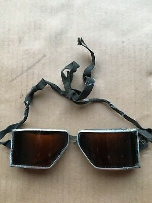 Welding Safety Goggles Steampunk Motorcycle Aviator