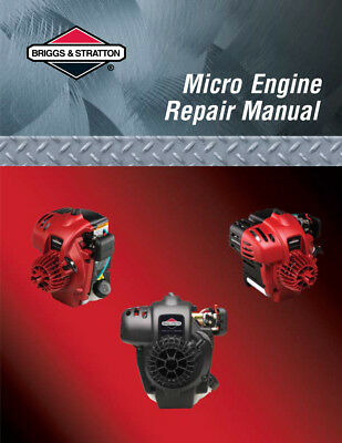 New Briggs Stratton Small Micro Fource Engines Workshop Repair Service Manual