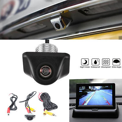 Vehicle 170° Reverse Backup Car Rear View Camera Night Vision Parking CCD HD 12V