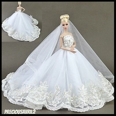 Barbie Doll Clothes - Vogue Set Wedding Party Evening Dress/Clothes/Outfit/New